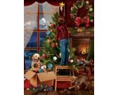 Zdobenie vianočného stromčeka - XXL PUZZLE