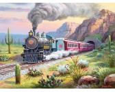 Vlak v púšti - XXL PUZZLE