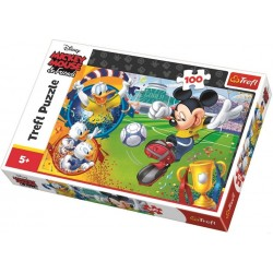 Mickey Mouse - futbal - DETSKÉ PUZZLE