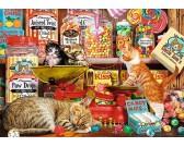 Zvedavé mačky
