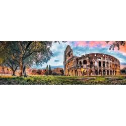 Koloseum, Rím - PANORAMATICKÉ PUZZLE