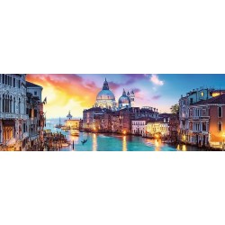 Canal Grande - PANORAMATICKÉ PUZZLE