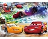 Cars - preteky - DETSKÉ PUZZLE