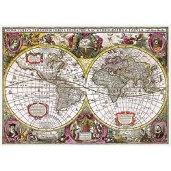 Puzzle Historická mapa