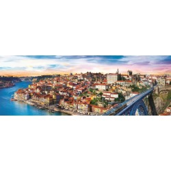 Porto, Portugalsko - PANORAMATICKÉ PUZZLE