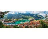 Kotor, Čierna hora - PANORAMATICKÉ PUZZLE