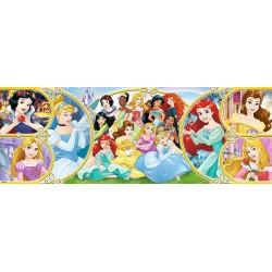 Princezné - PANORAMATICKÉ PUZZLE